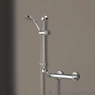 Bristan Design Utility Thermostatic Bar Shower with Handset